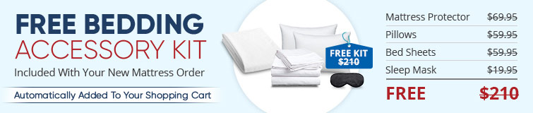 Free Bedding Accessory Kit