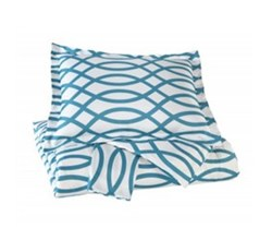 Beautyrest Duvet Sets in King Size signature design by ashley leander turquoise king duvet cover set