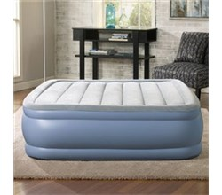 Simmons Beautyrest Queen Size Airbeds and Mattresses  beautyrest queen size plushaire express air bed with hands free pump