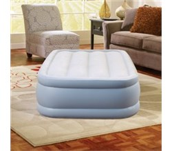 Air Mattresses beautyrest twin size plushaire express air bed with hands free pump