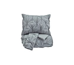 Beautyrest Comforter Sets in King Size ashley furniture rimy gray comforter set