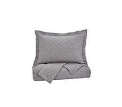 Beautyrest Quilt Sets in King Size ashley furniture alecio gray quilt set