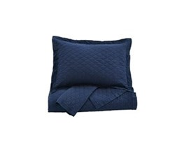 Beautyrest Quilt Sets in King Size ashley furniture alecio navy quilt set