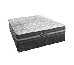Simmons Beautyrest Twin Size Luxury Extra Firm Comfort Mattress and Box Spring Sets Calista TwinXL XF Std Set N