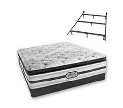 simmons king size beautyrest luxury plush pillow top mattress simmons doris