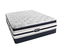 Simmons Beautyrest King Size Luxury Plush Pillow Top Comfort Mattress and Box Spring Sets simmons fair lawn king ppt low pro set
