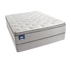 Simmons Beautyrest King Size Luxury Plush Pillow Top Comfort Mattress and Box Spring Sets simmons chickering king ppt std set