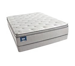 Simmons Beautyrest King Size Luxury Plush Pillow Top Comfort Mattress and Box Spring Sets simmons chickering king ppt low pro set