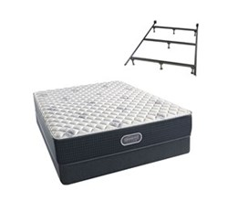 Simmons Beautyrest Queen Size Luxury Extra Firm Comfort Mattress and Box Spring Sets With Frame simmons beautyrest silver 600 xf