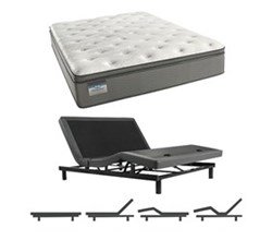 Simmons Beautyrest King Size Luxury Firm Pillow Top Comfort Mattress and Adjustable Bases simmons beautysleep 400 lfpt