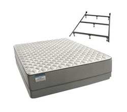 Simmons Beautyrest Queen Size Luxury Firm Comfort Mattress and Box Spring Sets With Frame beautysleep 300 firm queen size mattress and low profile box spring set with bed frame