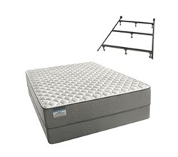 Simmons Beautyrest King Size Luxury Firm Comfort Mattress and Box Spring Sets With Frame simmons beautysleep 300 f