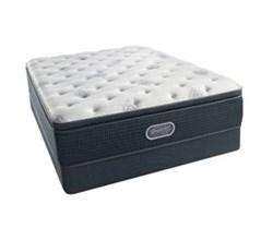 Simmons Beautyrest King Size Luxury Plush Pillow Top Comfort Mattress and Box Spring Sets simmons beautyrest silver 700 ppt