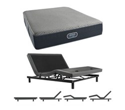 Simmons Beautyrest Queen Size Luxury Firm Comfort Mattress and Adjustable Bases simmons beautyrest silver hybrid 1000 lf