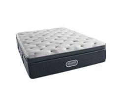 Simmons Beautyrest California King Size Luxury Plush Pillow Top Comfort Mattress Only simmons beautyrest silver 900 ppt