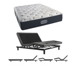Simmons Beautyrest King Size Luxury Plush Comfort Mattress and Adjustable Bases simmons beautyrest silver 800 pl