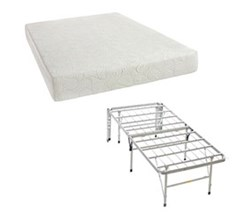 Simmons Beautyrest Memory Foam Mattresses And 2 In 1 Bed Frame  flex 7.25 inch mattress