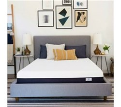 Simmons Beautyrest Recharge Queen Size Memory Foam Mattresses  beautysleep 10 inch queen size plush gel foam mattress