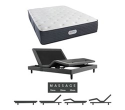 Simmons Beautyrest Twin Size Luxury Plush Comfort Mattress and Adjustable Bases simmons jaycrest 13 inch plush