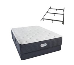 Simmons Beautyrest Twin Size Luxury Firm Comfort Mattress and Box Spring Sets With Frame simmons spring grove 14 inch luxury firm