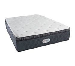 Simmons Beautyrest King Size Luxury Plush Pillow Top Comfort Mattress Only simmons spring grove 15 inch plush pillow top