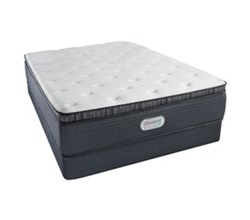 Simmons Beautyrest Twin Size Luxury Plush Plillow Top Comfort Mattress and Box Spring Sets simmons spring grove 15 inch plush pillow top