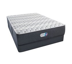 Simmons Cal King size Extra Firm Mattress and Standard Box Springs Set simmons haven pines 14 inch extra firm