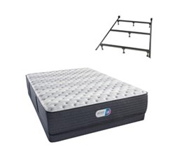 Simmons Beautyrest California King Size Luxury Extra Firm Comfort Mattress and Box Spring Sets With Frame simmons haven pines 14 inch extra firm
