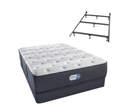 Simmons Beautyrest Twin Size Luxury Firm Comfort Mattress and Box Spring Sets With Frame simmons haven pines 14 inch luxury firm