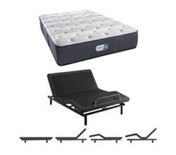 Simmons Beautyrest King Size Luxury Firm Comfort Mattress and Adjustable Bases simmons haven pines 14 inch luxury firm