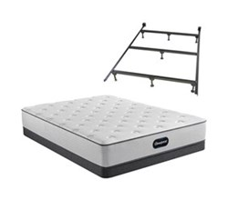 Simmons Beautyrest King Size Luxury Firm Mattress and Boxspring Sets With Bed Frame beautyrest br800 medium