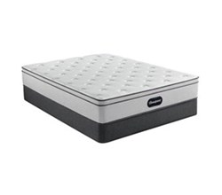 Simmons Full size Luxury Plush Mattress and Standard Box Springs Set beautyrest br800 plush euro top full size mattress and standard box spring set