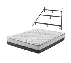 Simmons Beautyrest King Size Luxury Firm Mattress and Boxspring Sets With Bed Frame beautyrest foam medium