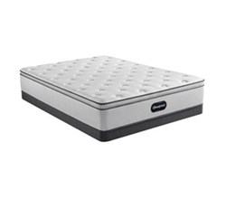 Simmons Beautyrest Full Size Luxury Plush Pillow Top Mattress and Boxspring Sets With Bed Frame beautyrest 800 ppt
