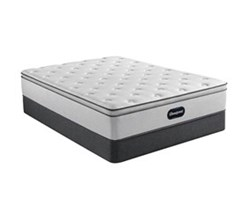 Simmons Cal King size Luxury Plush Pillow Top Mattress and Standard Box Springs Set beautyrest 800 ppt