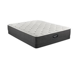 Simmons Twin XL size Luxury Firm Mattress and Low Profile Box Springs Set beautyrest silver brs900 medium firm