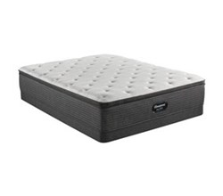 Simmons King size Luxury Firm Pillow Top Mattress and Low Profile Box Springs Set beautyrest silver brs900 medium pt