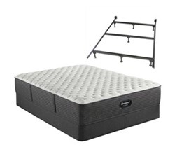 Simmons Beautyrest King Size Extra Firm Mattress and Boxspring Sets With Bed Frame beautyrest silver brs900 c extra firm