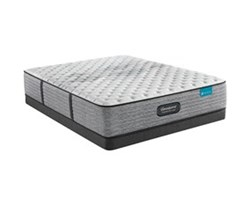 Simmons Full size Extra Firm Mattress and Low Profile Box Springs Set beautyrest harmony lux carbon xf