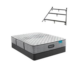 Simmons Beautyrest King Size Extra Firm Mattress and Boxspring Sets With Bed Frame beautyrest harmony lux carbon xf