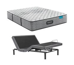 Simmons Beautyrest Twin XL Size Extra Firm Mattress and Adjustable Base Bundles beautyrest harmony lux carbon xf